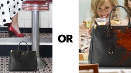 Purse on the Ground vs. Purse on the Table