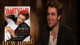 Robert Pattinson on His 2009 V.F. Cover