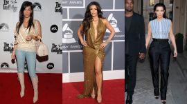 Kim Kardashian Used to Wear Denim on the Red Carpet?