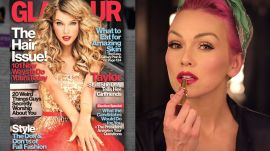 Get Taylor Swift's Bold Red Lip From Her 2012 Glamour Cover