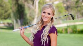 Cozy Up to Pro Golfer and Model Blair O'Neal