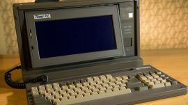 Remember When a 29-pound Portable Computer was Light?