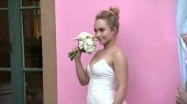 Hayden Panettiere's BRIDES April/May Cover Shoot