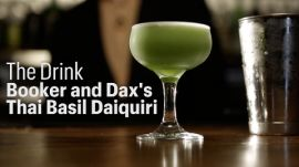 Watch Dave Arnold Make the Thai Basil Daiquiri
