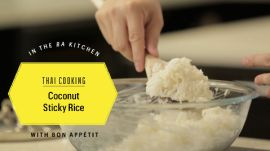 Thai Cooking: Coconut Sticky Rice