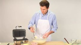 Ham and Cheese Waffles with Food Editor Hunter Lewis