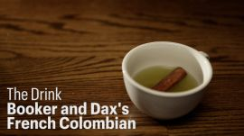 Watch Dave Arnold Make the French Colombian Cocktail