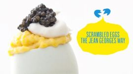 The Softest Scrambled Eggs with Chef Jean-Georges Vongerichten