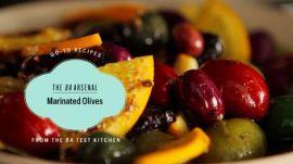 Homemade Marinated Olives