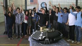 To Infinity & Beyond: The Fellows Visit NASA & Learn About the Future of Life on the Moon