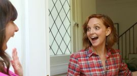 Glee's Jayma Mays' Husband Looks Great in Heels