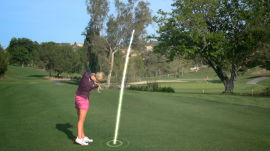 Blair O'Neal Shows You How to Hit the Sky Shot