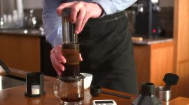 How to Brew Coffee Using an Aeropress