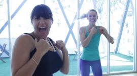 Body By Simone Gives a Pregnant Jamie Greenberg a Workout