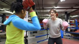 Emmy Blotnick Recovers from Gleason's Boxing Gym