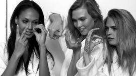 #Instagirls: Karlie Kloss, Cara Delevingne, Joan Smalls, and More Talk Supermodels and Instagram