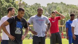 Want to Know How an NFL Athlete Really Stays in Shape?