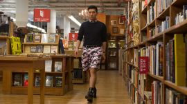 How Bryanboy Rocks a (Somewhat) Understated Floral Print