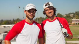 Unbelievable Golf & Baseball Trick Shots with the Bryan Bros