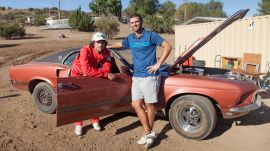 Can You Hit a Golf Ball Flying Out of a '69 Ford Mustang?