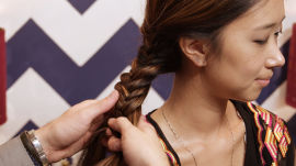 How to Create a Fishtail Braid and a Quick Smoky Eye