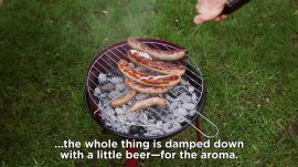 How to Make Bratwurst -- Grilling Around The World, Germany Edition