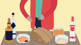 How to Shop for Groceries for Thanksgiving (Using a Motorized Scooter)