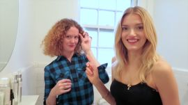 Building the Perfect Brow: Watch Model Lily Donaldson and Makeup Artist Alice Lane's Two-Second Trick