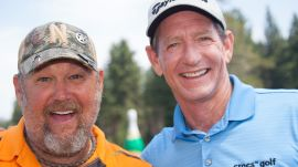 Larry the Cable Guy:  How to Straighten Out Your Shot