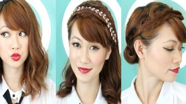 3 Simple Holiday Hairstyles