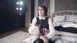 Backstage with Megan Mullally at It's Only a Play
