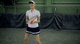 Is Tennis the Next Big Model Workout? Watch Constance Jablonski Play Her Way to a Better Body