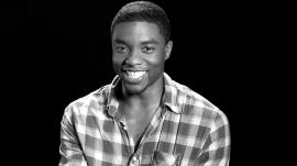 Chadwick Boseman Confesses His Cinematic Crush