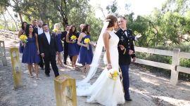 An Elegant Military Wedding in California