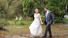 A Whimsical, Rustic Wedding in Florida