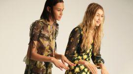 Binx Walton and Gigi Hadid Play Pose Association with Teen Vogue