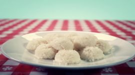 Coconut Water Donut Holes