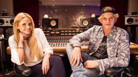 Hanging with Cody Simpson and Sis Alli Simpson in the Studio