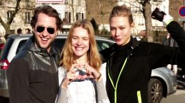 Karlie Kloss, Natalia Vodianova, and Derek Blasberg Ran a Half-Marathon Smack in the Middle of Paris Fashion Week
