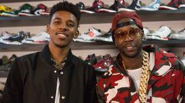 Nick Young & 2 Chainz Shop for $25K Jordans