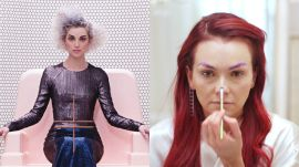 St. Vincent's Regal Album Cover Look, Recreated by Kandee Johnson