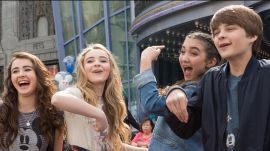 Rowan, Sabrina, and Their Friends Learn to Draw at Disney California Adventure