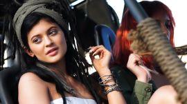 A Peek at Kylie Jenner's Fierce Teen Vogue Cover Shoot