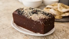 Make Perfectly Nutty Black Sesame Banana Bread from El Rey