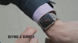 Apple Watch Can Order a Burrito and an Uber From Your Wrist