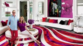 AD Visits: Tommy Hilfiger at Home