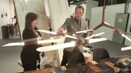 Hal Rubenstein at the 2015 Architectural Digest Home Design Show