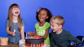 Fallon, Alexandra and Luka Describe Their Dream Cake