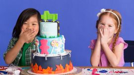 Gwenny and Kai Imagine Their Dream Cake