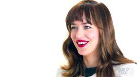 "Dakota Johnson On the Biggest Surprise on ""Fifty Shades of Grey"" Set"